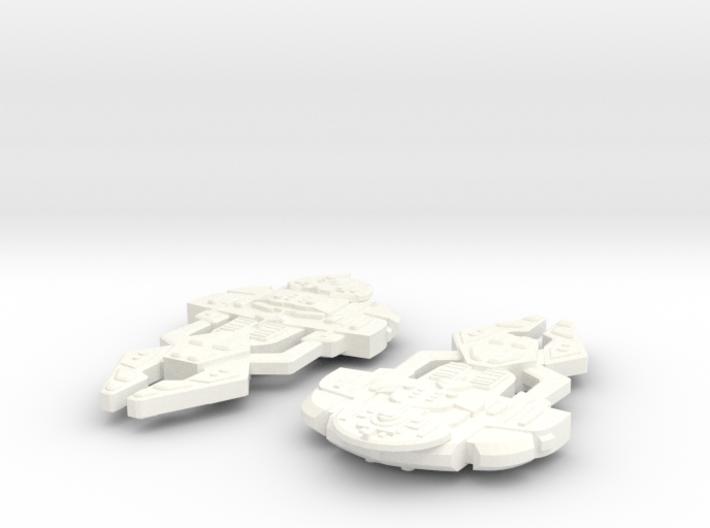 Koramel Class Destroyer 3d printed