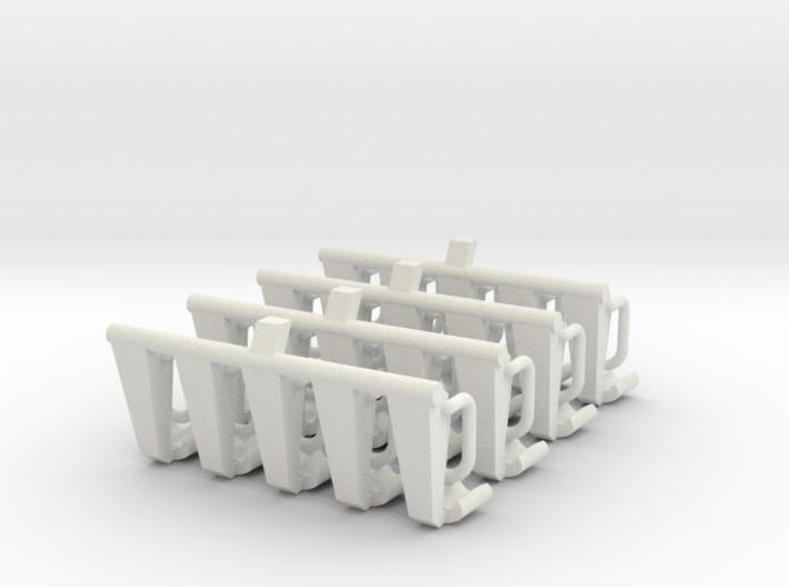 4x5 Sitzbänke für 1:87 (H0) 3d printed