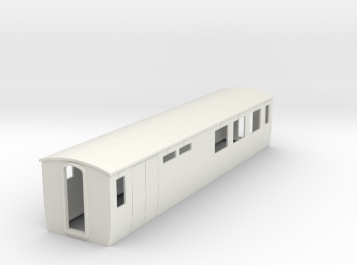 On16.5 modern restaurant car 3d printed