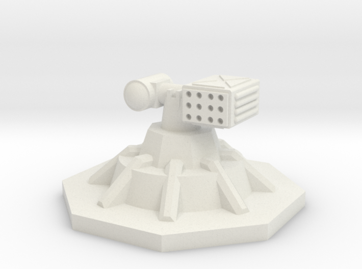 SRM Turret 6mm 3d printed