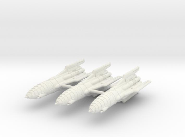 IPF Goshawk Interceptor Rocket Wing 3d printed