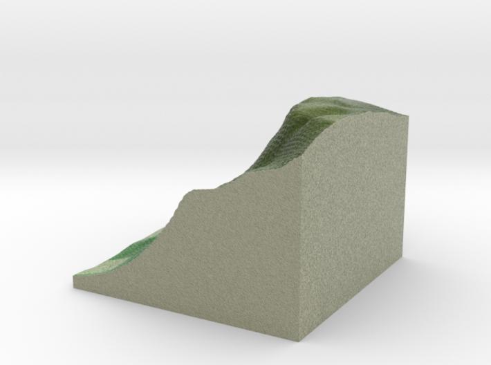 Terrafab generated model Fri Sep 27 2013 11:30:00 3d printed