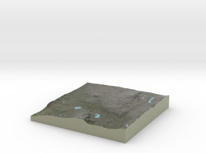 Terrafab generated model Fri Sep 27 2013 15:48:30 3d printed