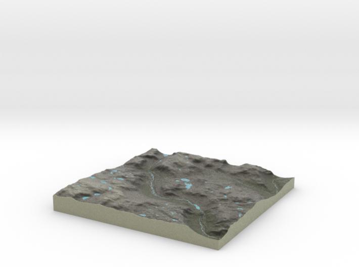 Terrafab generated model Fri Sep 27 2013 13:14:48 3d printed