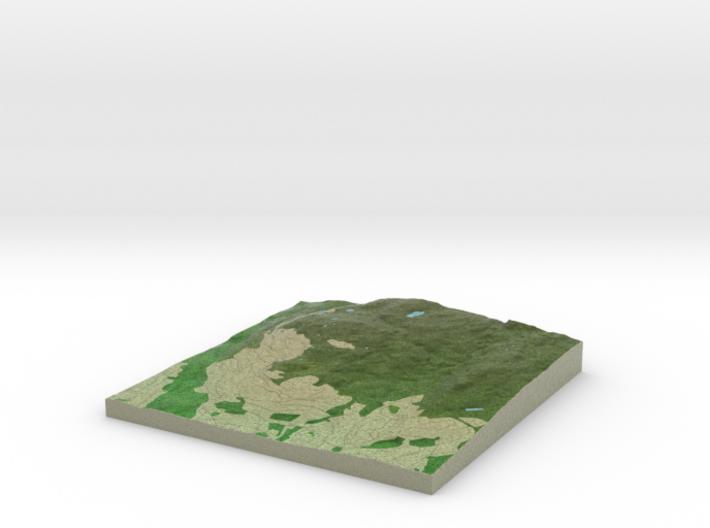 Terrafab generated model Fri Sep 27 2013 15:55:15 3d printed