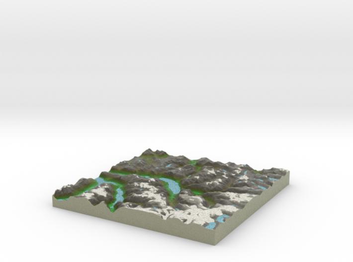 Terrafab generated model Fri Sep 27 2013 19:26:34 3d printed