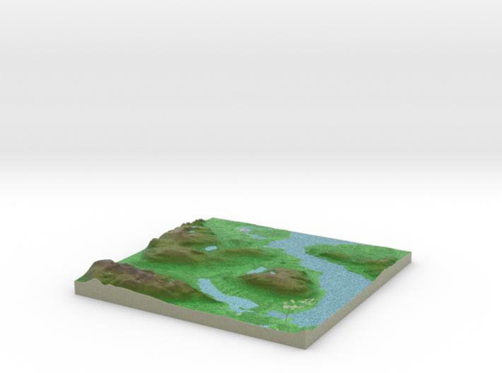 Terrafab generated model Fri Sep 27 2013 19:14:39 3d printed