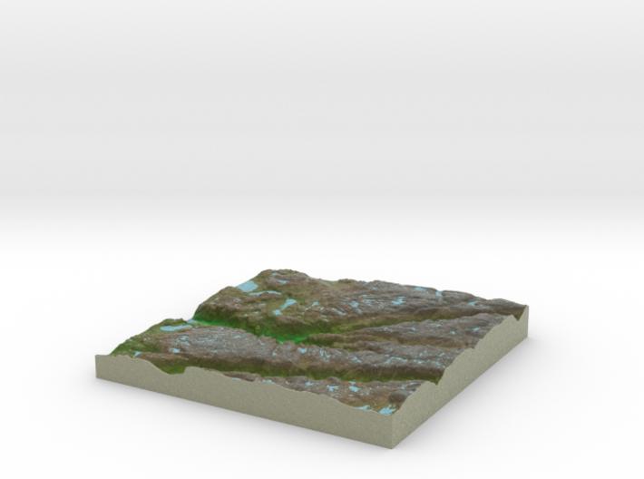 Terrafab generated model Sat Sep 28 2013 23:59:25 3d printed