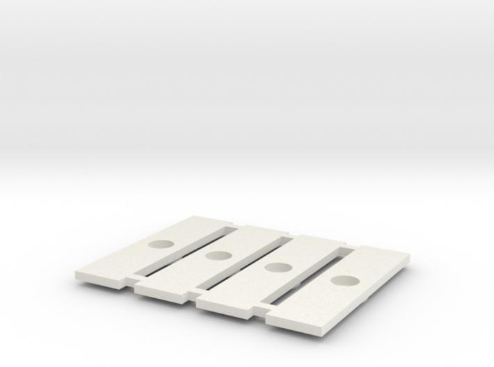 Fahrgestell-Verbindungsklipse für Halberstädter 3d printed