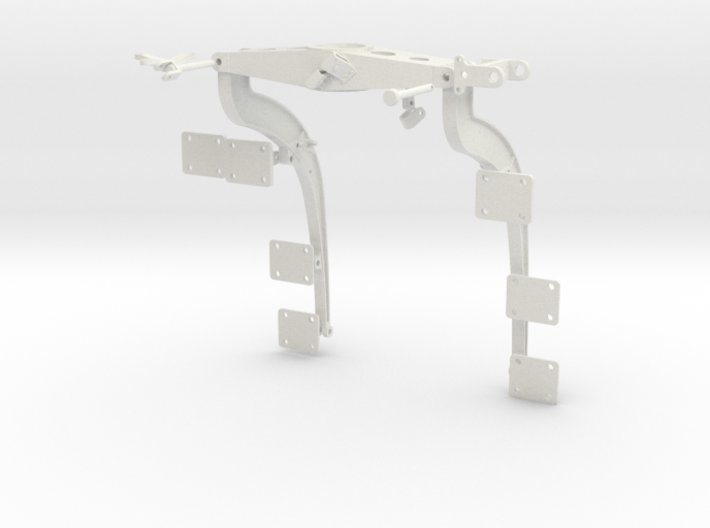 1:7 Scale Huey Port Side Weapons Support Frame 3d printed