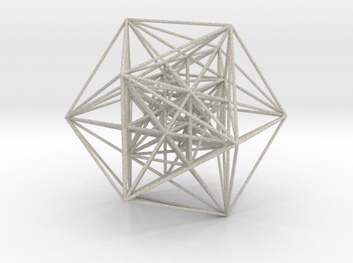 MorphoHedron11-800F Icosahedron 3d printed