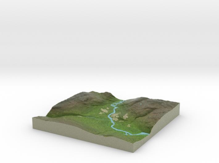 Terrafab generated model Tue Oct 01 2013 19:12:03 3d printed