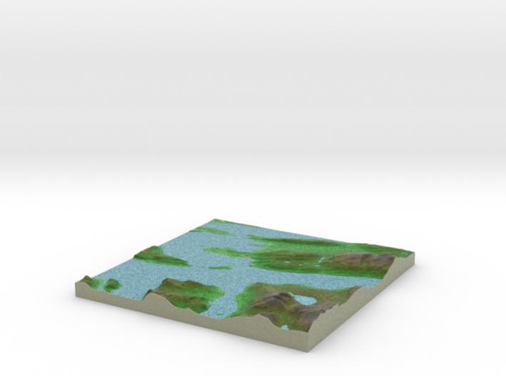 Terrafab generated model Fri Oct 04 2013 02:50:18 3d printed