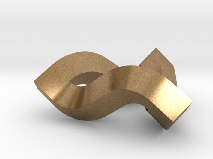 Impossible Triangle, Mini 3d printed