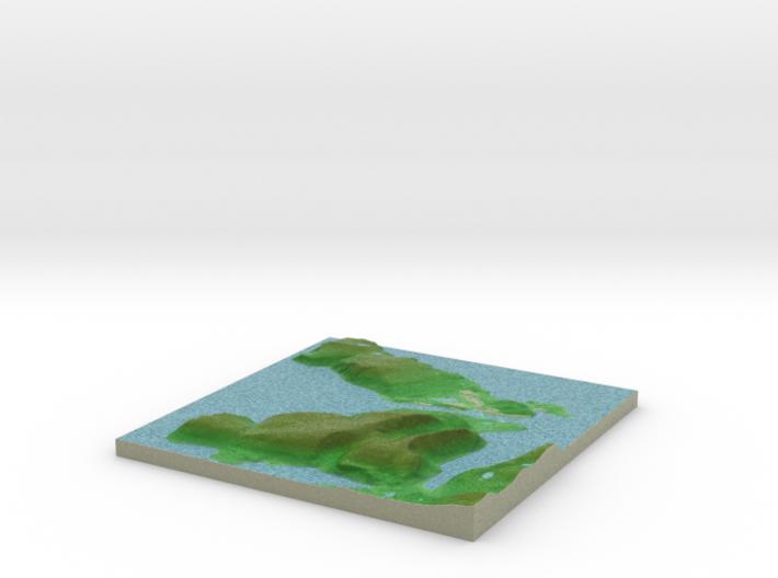 Terrafab generated model Wed Oct 09 2013 19:31:28 3d printed