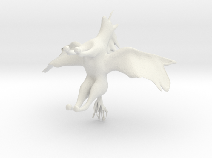 sorry it is an unicorn! 3d printed
