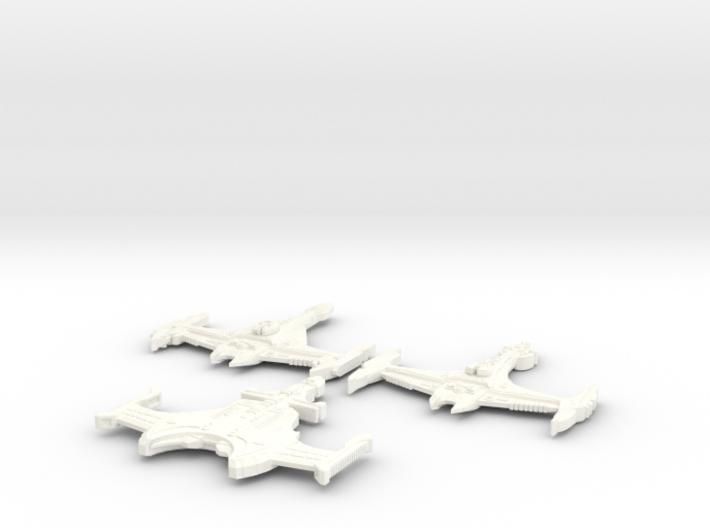 3 Klingon Bashes 3d printed