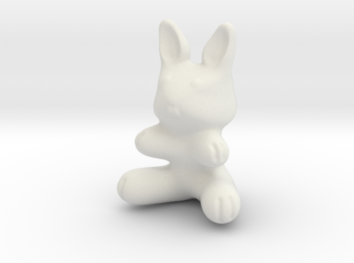 Toy Bunny (1in./2.54cm) 3d printed