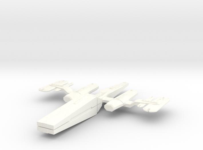 Andorian War Dog 3d printed