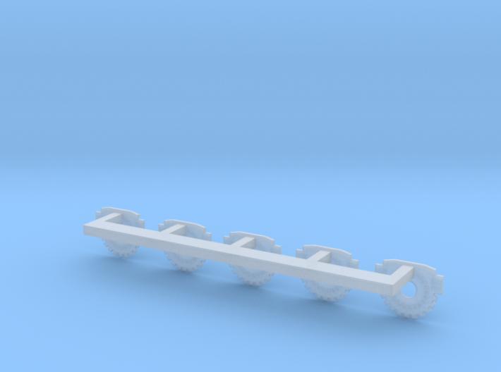 Galactica Gun Pad Assembly 3d printed