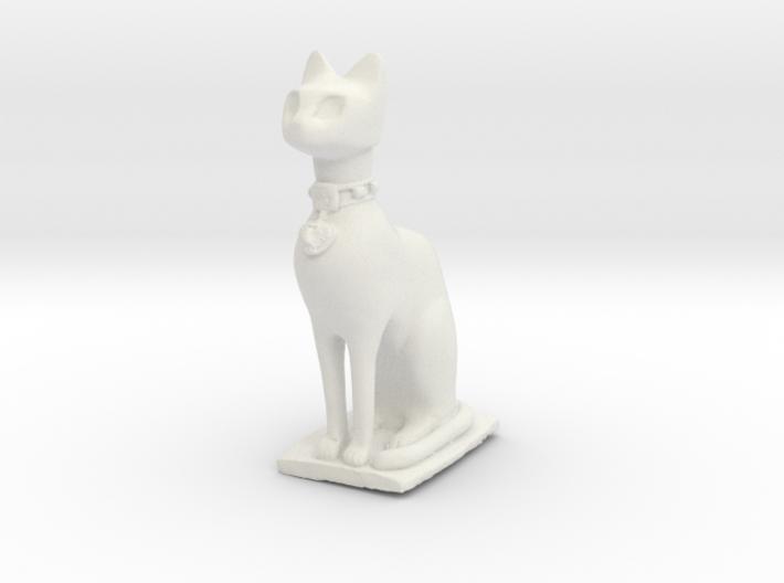Cat statue 3d printed