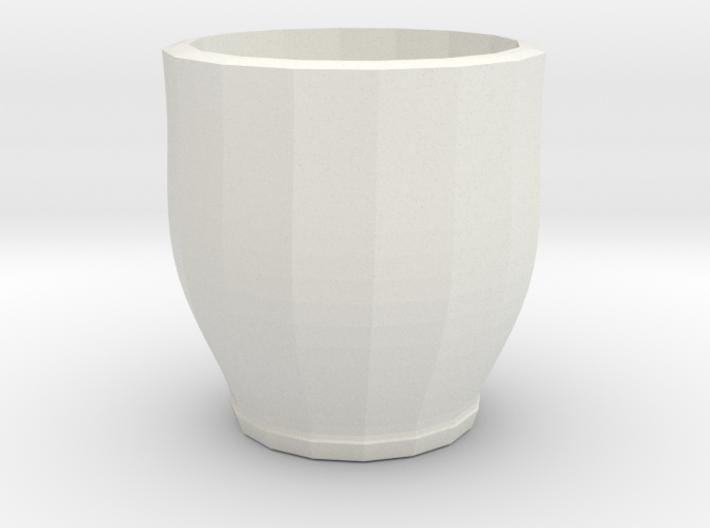 red cap cup 1 3d printed