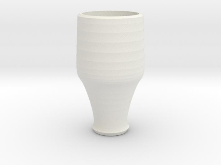 blue cap cup 1 3d printed