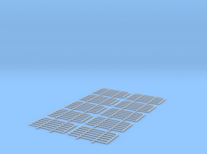 Gitter für LKW 15mm hoch 3d printed