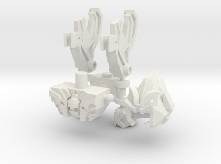 Steely Bot Upgrade Set 3d printed