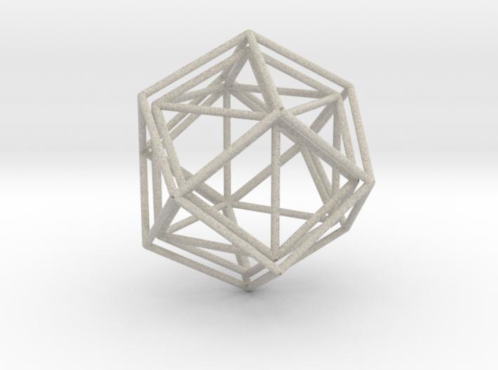 Rhombicage-r1.5-s24.4-o2-n1-dTrue-x0.1 3d printed