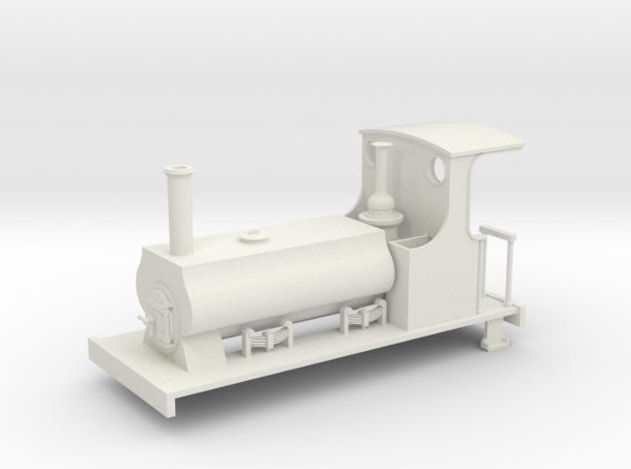 1:32/1:35 C&MLR Barclay saddle tank 3d printed
