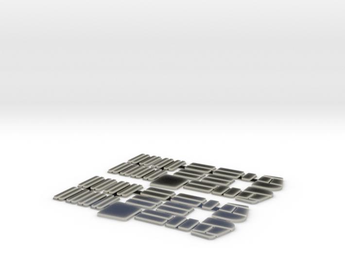 Rom Socimi windows, H0 3d printed
