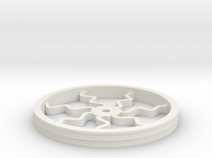 100mmFloppyBotWheel-05 3d printed