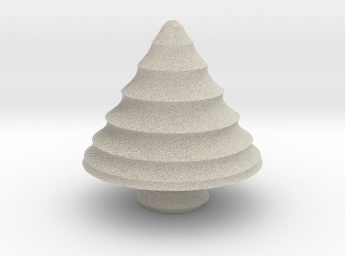 xmas tree 24 3d printed