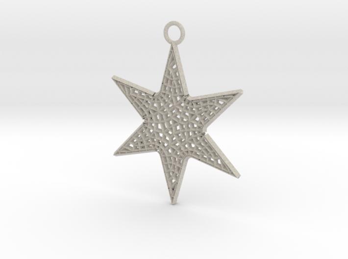 Star Ornament Medium 3d printed