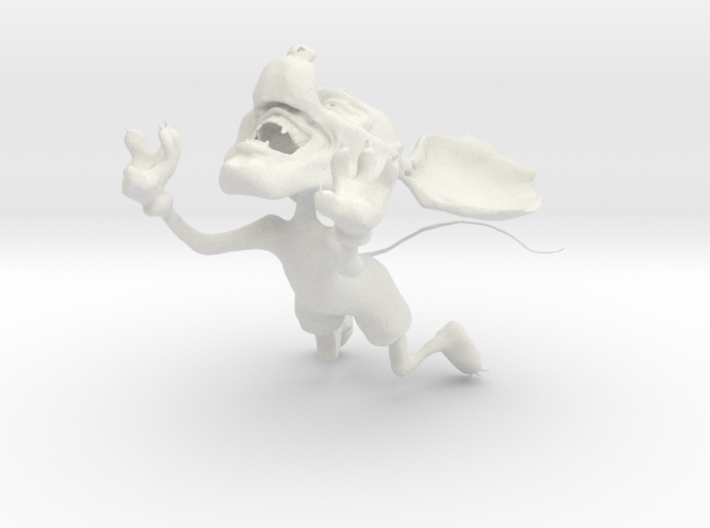 Mickey Mouse gone wild - jumping (tail) 3d printed