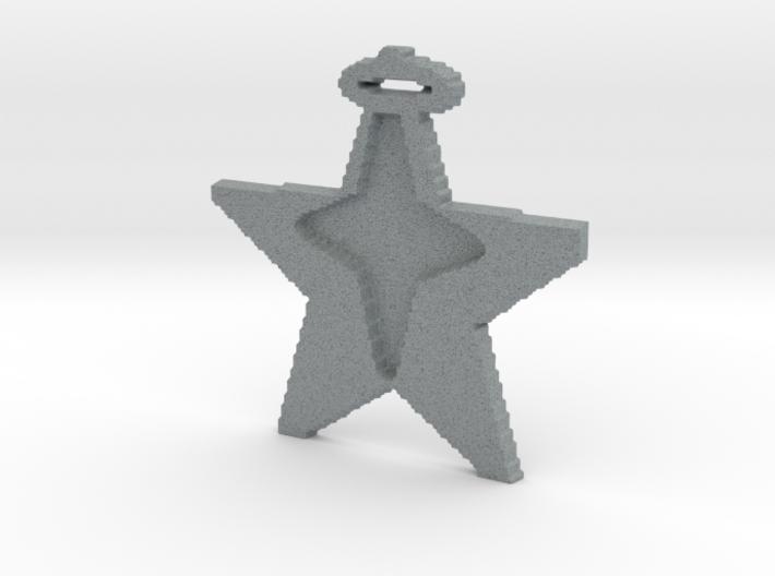 star in star pendant 3d printed