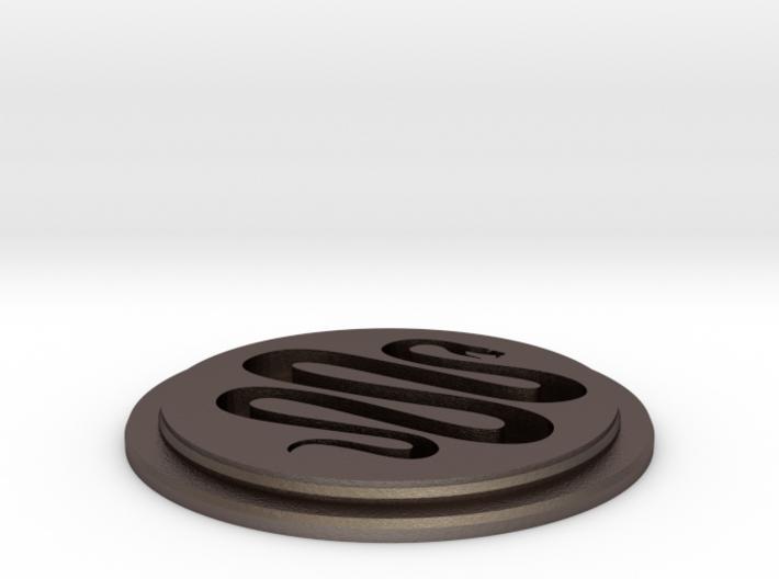 Snake Team Disk 3d printed