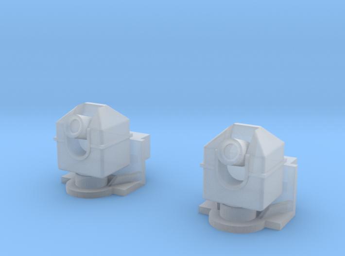 Frontwerfer Magirus Kleine Anbauplatte.stl 3d printed