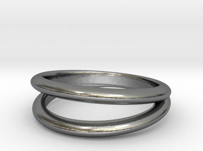 Split Band ring 3d printed