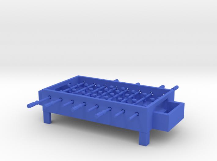 """Foosball Table 4"""" long 3d printed"""