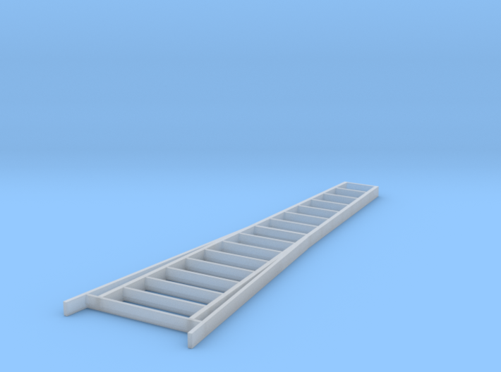 S Scale 15' Orchard Ladder 3d printed