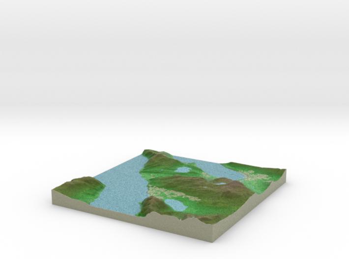 Terrafab generated model Wed Nov 06 2013 02:15:19 3d printed