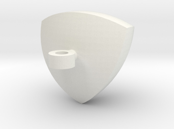 Reuleaux Tetrahedron Pendent 3d printed
