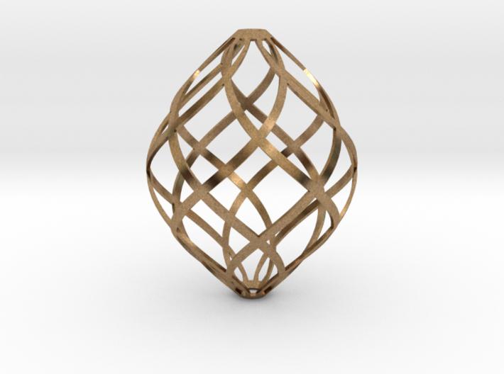 Zonohedron 3d printed
