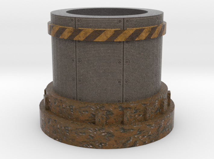 Pedestal2 for miniatures Industrial 3d printed
