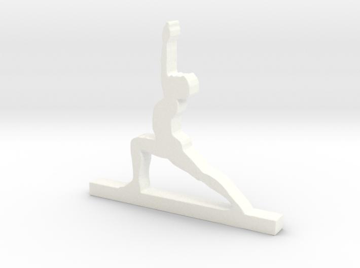 Yoga Pose 3d printed