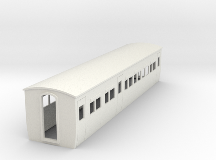 009 colonial modern composite coach 3d printed