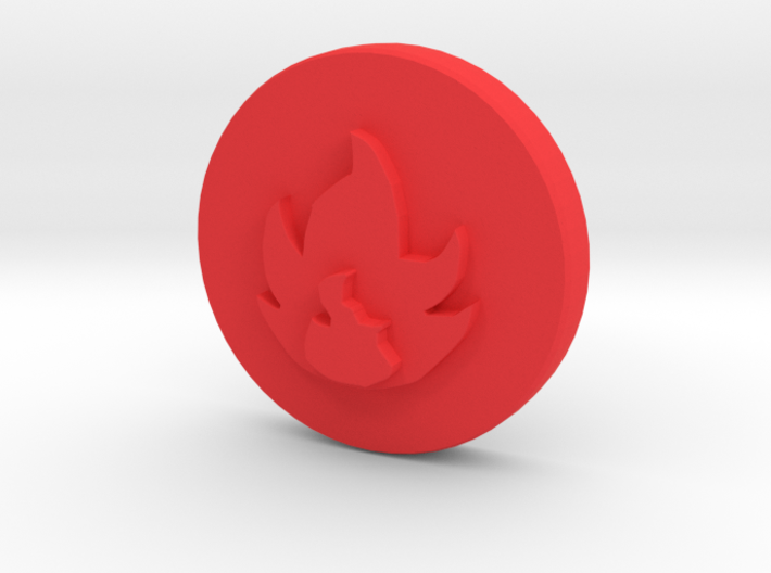 Fire Element 3d printed