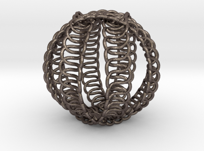 Knot Ball 3d printed